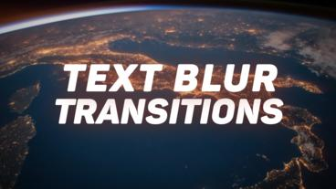 Text Transitions Presets Premiere Pro Effect Preset