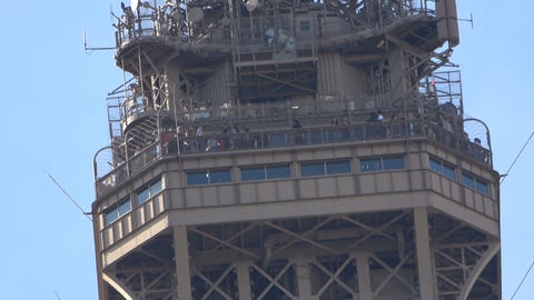 Reaching the Top of the Eiffel Tower Live Action
