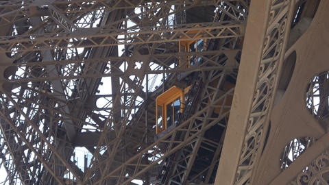 Elevator of the Eiffel Tower Live Action