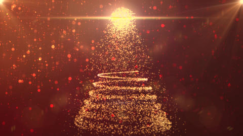 christmas background snow gold xmas x`mas Animation