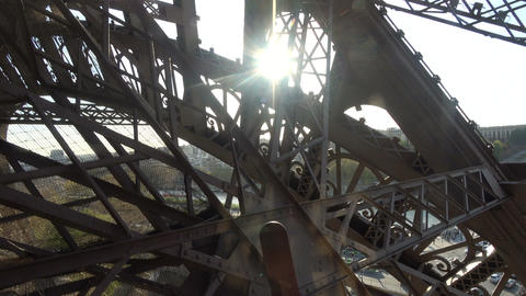 Ascending with the Elevator at Eiffel Tower 1 Live Action