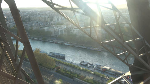 Descending with the Elevator from the Eiffel Tower Live Action