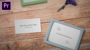 Wedding Opener モーショングラフィックステンプレート