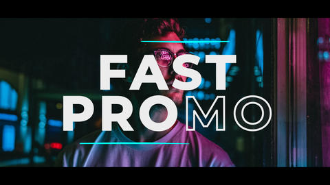Trendy Fast Promo After Effects Template