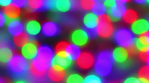 Defocussed bokeh blur running light. Defocussed bokeh blur running light Live Action