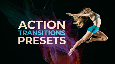 Action Transitions Plantillas de Premiere Pro