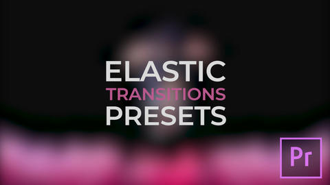 Elastic Transitions Premiere Pro Template