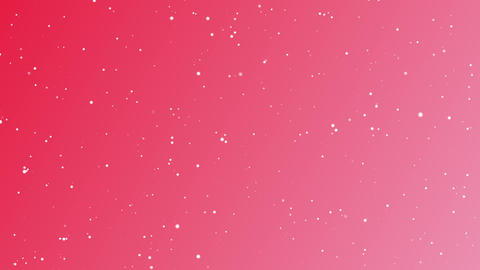 クリスマスカラーの背景素材 CG動画