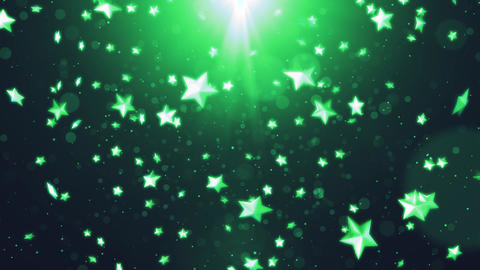 Christmas background star background material Animation