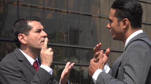 Deaf Man Asking For Help Using Sign Language Being Misunderstood Live Action