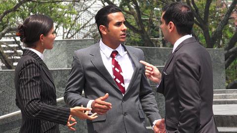 Business People Accusation Argument Live Action