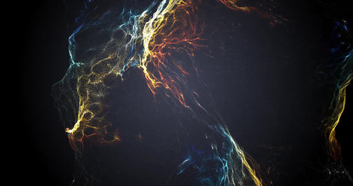 Particle nebula, Stock Animation