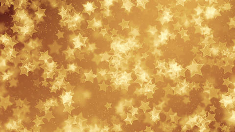 Gold Stars Background Animation