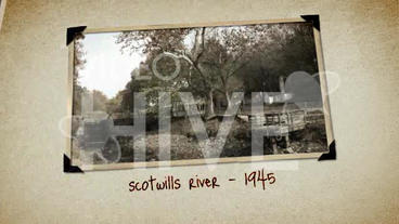 Old Photo Album After Effects Template