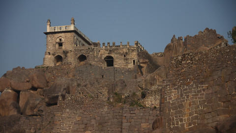 Golconda Fort Hyderabad India Live Action