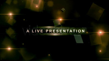 A LIVE Presentation After Effects Project