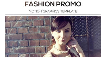 Fashion Promo After Effects Project