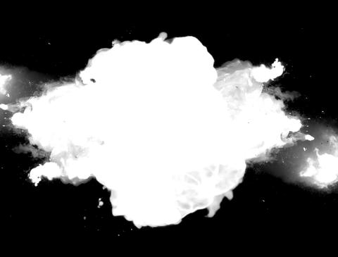 Explosion Matte Animation