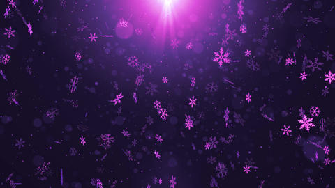 Christmas title opening background material, Stock Animation