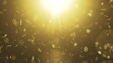 Christmas title opening background material Animation