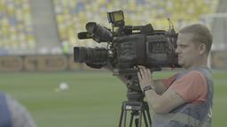 Cameraman On The Football UHD