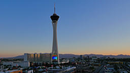 Time Lapse Sunrise View Over the Las Vegas Strip Footage