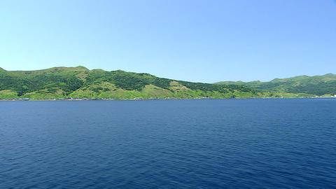 礼文島 船より主観移動 ビデオ