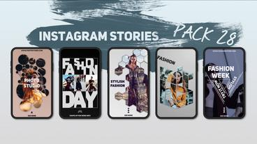 Instagram Stories Pack 28 After Effects Template