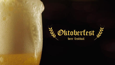 Oktoberfest Beer Festival After Effects Template