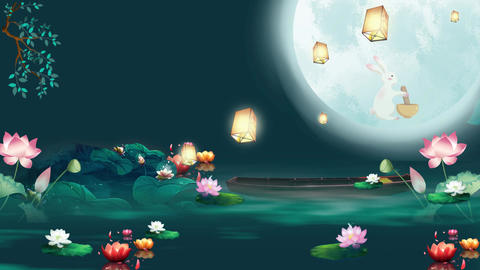 Moon Festival After Effects Template
