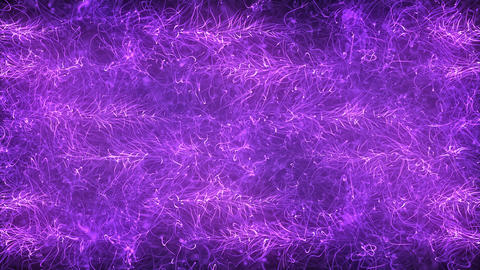 Purple Magic Abstraction Animation