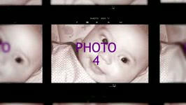 Contact Sheet SlideShow After Effects Template