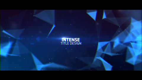 Intense Title Design After Effects Template
