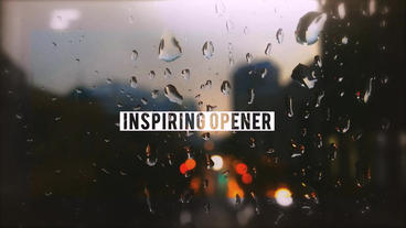 Inspiring Opener After Effects Template