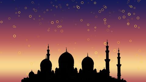 Ramadan Kareem islamic background Footage