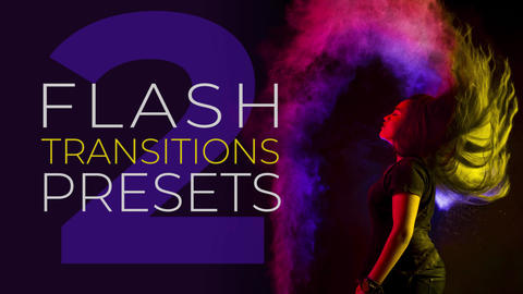 Flash Transitions V.2 Plantillas de Premiere Pro