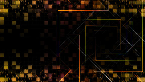 AI, artificial intelligence digital network technologies 19 Grid BG 0A red 4k Animation