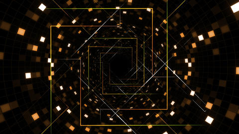 AI, artificial intelligence digital network technologies 19 Grid BG 1 F1 red 4k Animation