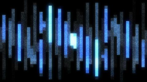 Hologram Equalizer Animation