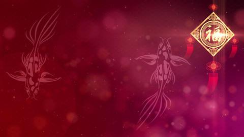 Happy Chinese New Year Background Animation