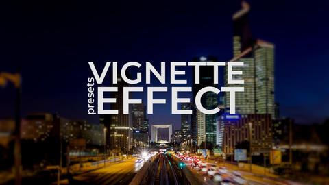 Vignette Effect Premiere Proテンプレート