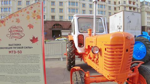 Tractor MTZ-50 Belarus Live Action
