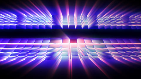 Abstract Grid Rays 02 HD Animation