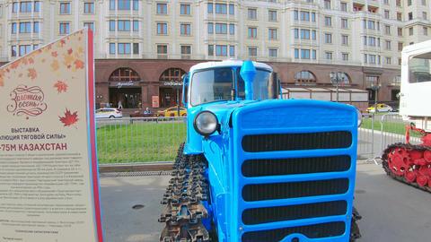 Tractor DT-75M Kazakhstan Live Action