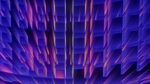 Abstract Grid Rays 04 HD Animation