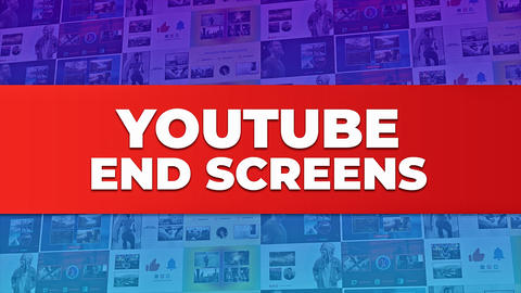 YouTube EndScreens 2 After Effects Template