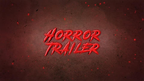 Horror Trailer After Effects Template