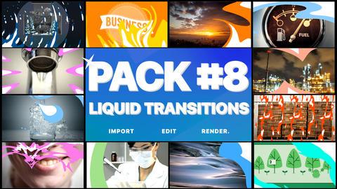 Liquid Transitions Pack 08 Premiere Pro Template