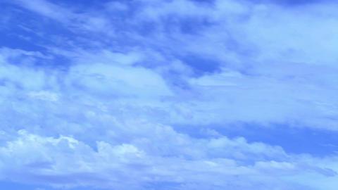 cloud blue sky loop time lapse Footage