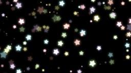 Mov171 particle star loop alpha 03 CG動画